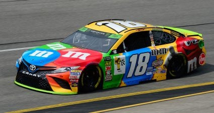 Kyle Busch Leads First Practice