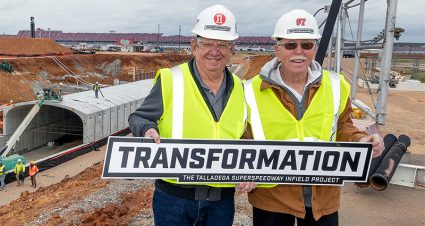 Allison, Farmer Get Look at Talladega's New Tunnel