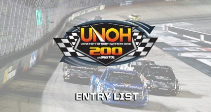 UNOH 200 Entry List