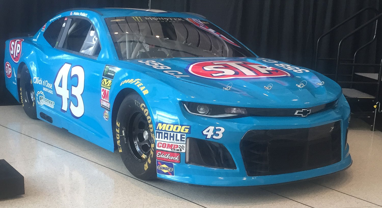 Richard Petty Motorsports >> STP Unveils Darlington No. 43 Throwback Scheme for Bubba ...