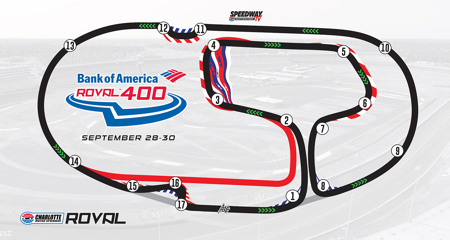 Charlotte Weekend Preview Bank Of America Roval 400 Mrn