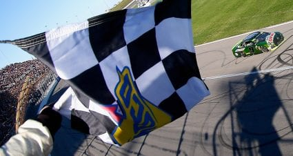 Kansas Checkered and Black Flags
