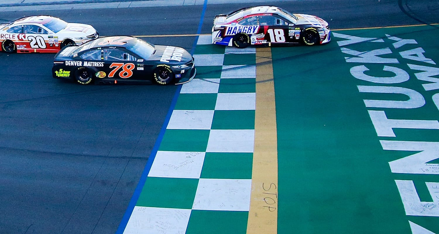 kentucky fantasy racing preview quaker state 400 mrn