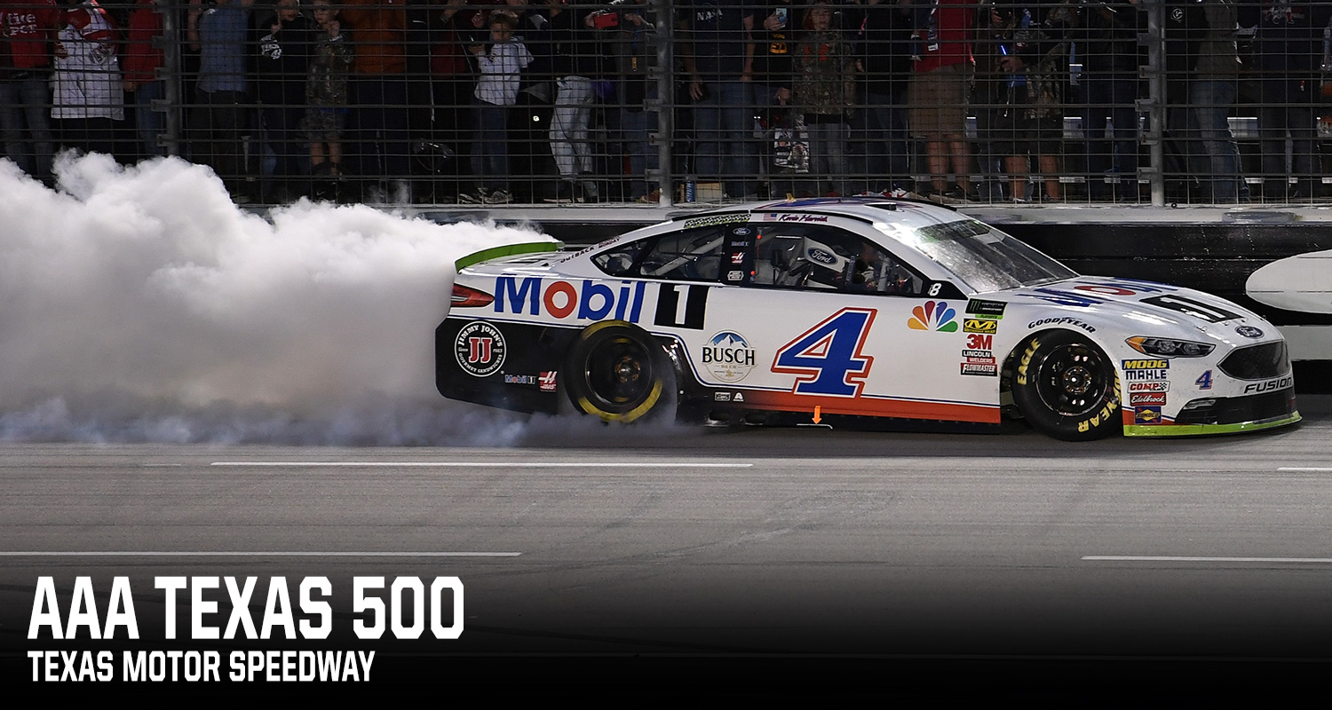 Race 2 of the Round of 8 was the AAA Texas 500 at Texas Motor Speedway. As he had so many times in 2018, Kevin Harvick dominated – winning Stages 1 and ...