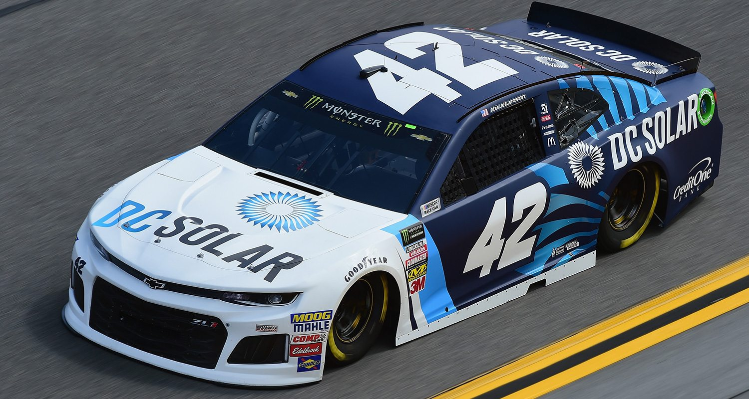 Monster energy nascar cup series paint schemes for the for Larson motors used cars