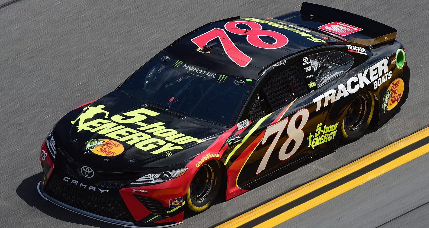 Martin-Truex-Jr-clash-Car - MRN - Motor Racing Network
