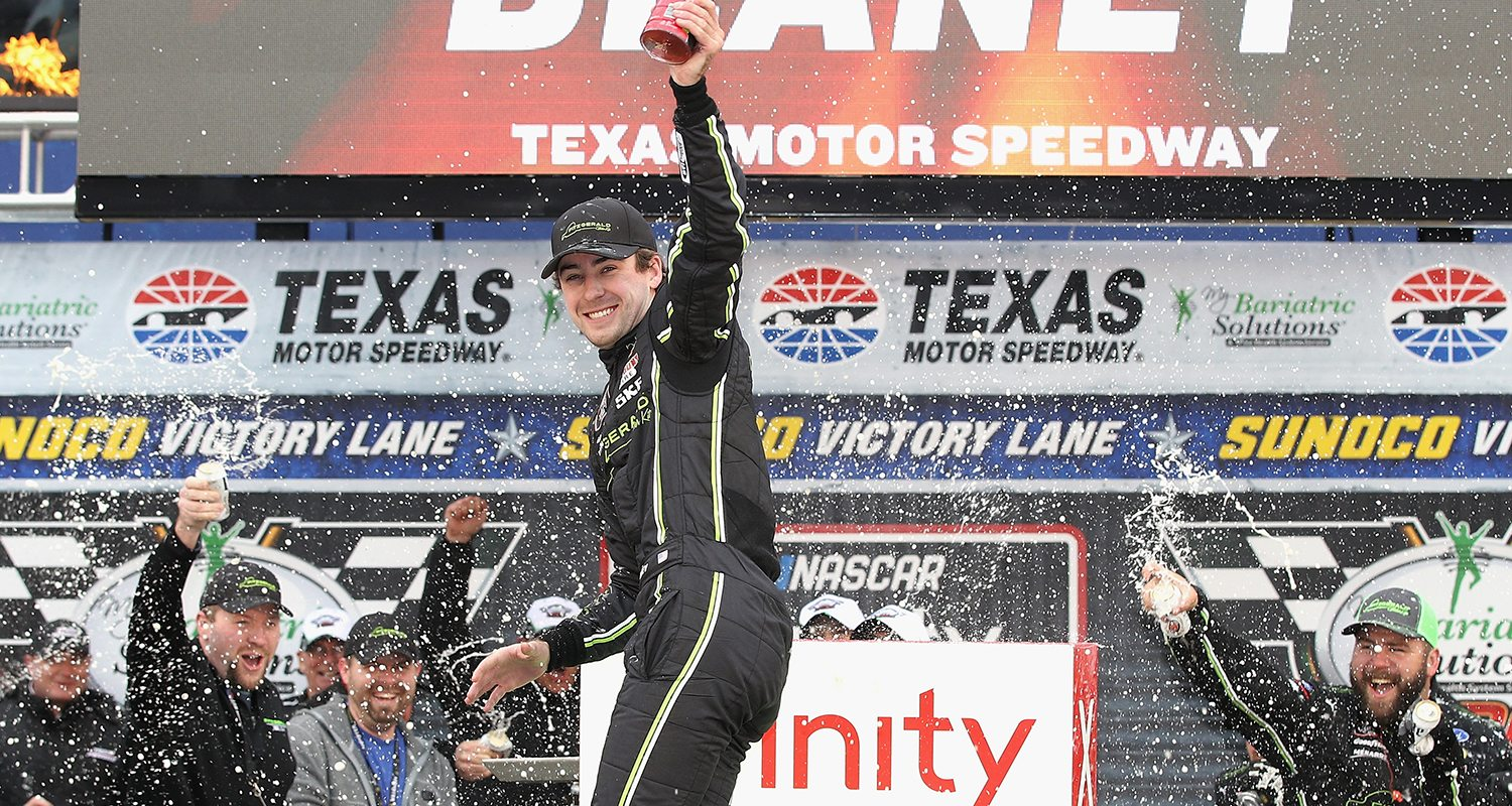 Ryan Blaney Wins My Bariatric Solutions 300 at Texas   MRN.com