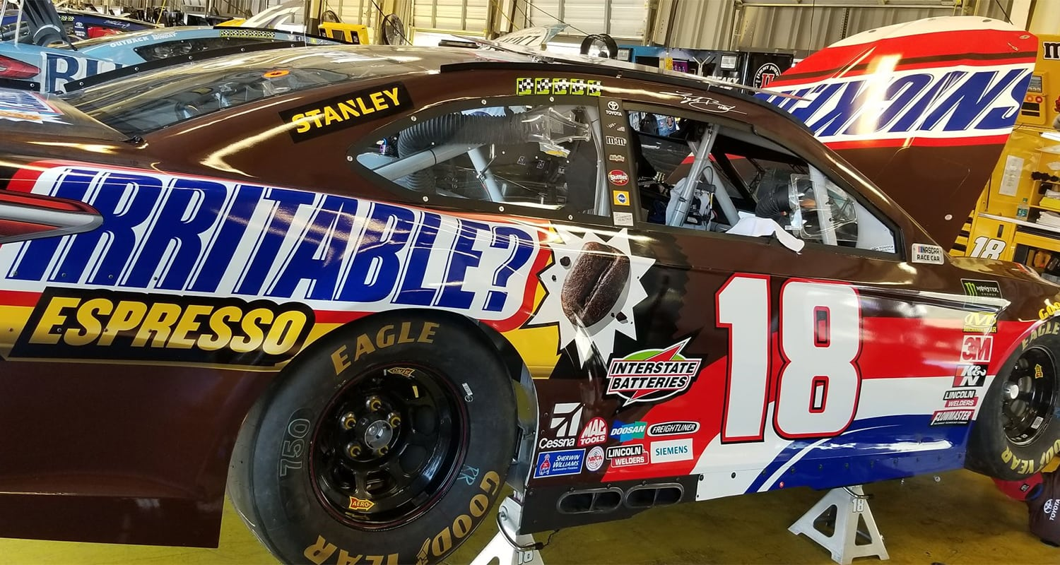 18 Kyle Busch Kentucky