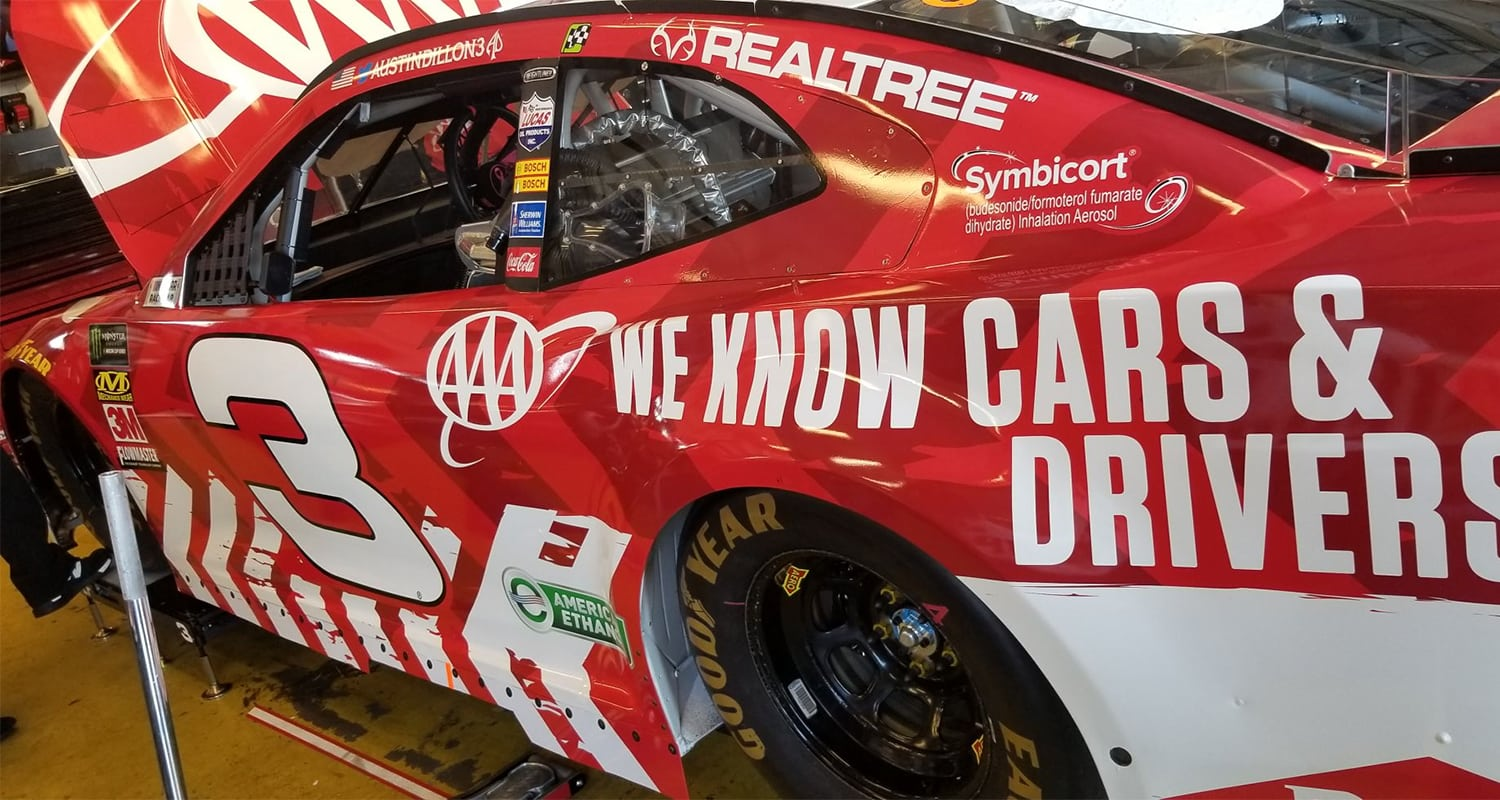 3 Austin Dillon Kentucky