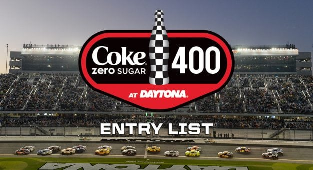 Coke Zero Sugar 400 Entry List