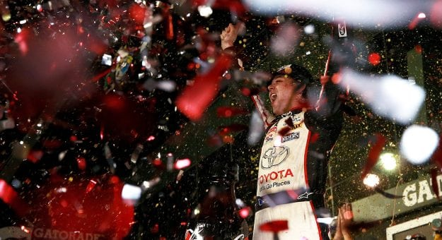 Jones captured his first career Monster Energy NASCAR Cup Series win in the Coke Zero Sugar 400.