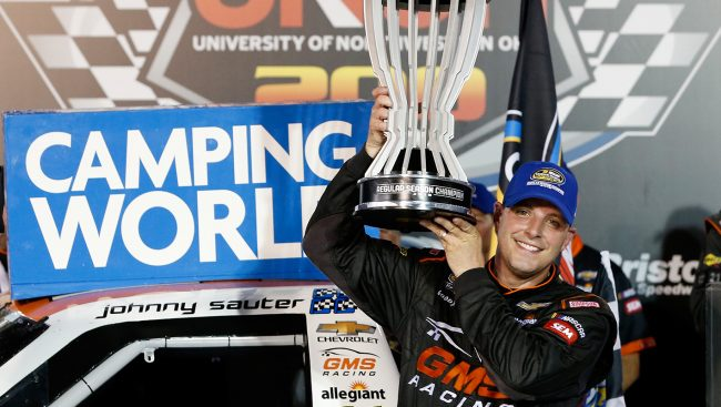 Sauter Gets First Bristol Win