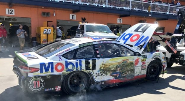 Early Exit For Harvick Jones