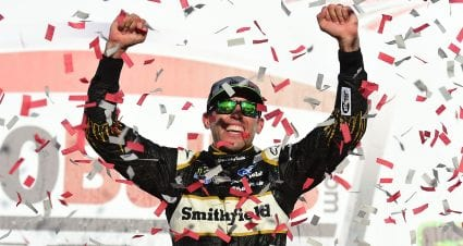 Almirola Back in Victory Lane