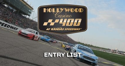 Hollywood Casino 400 Entry List