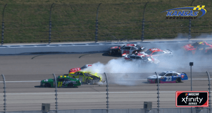 Xfinity Playoff Drivers Wreck Early
