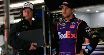 Wheeler's Last Race With Hamlin