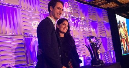 Logano Named Comcast Community Champion of the Year