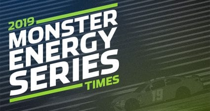 Start Times for 2019 Monster Energy Series Schedule Revealed