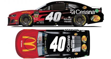McMurray Lands Daytona 500 Ride