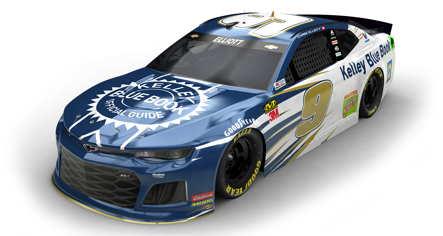 Kelley Blue Book Chase Elliott