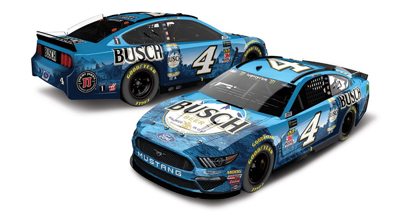 Kevin Harvick Busch Beer