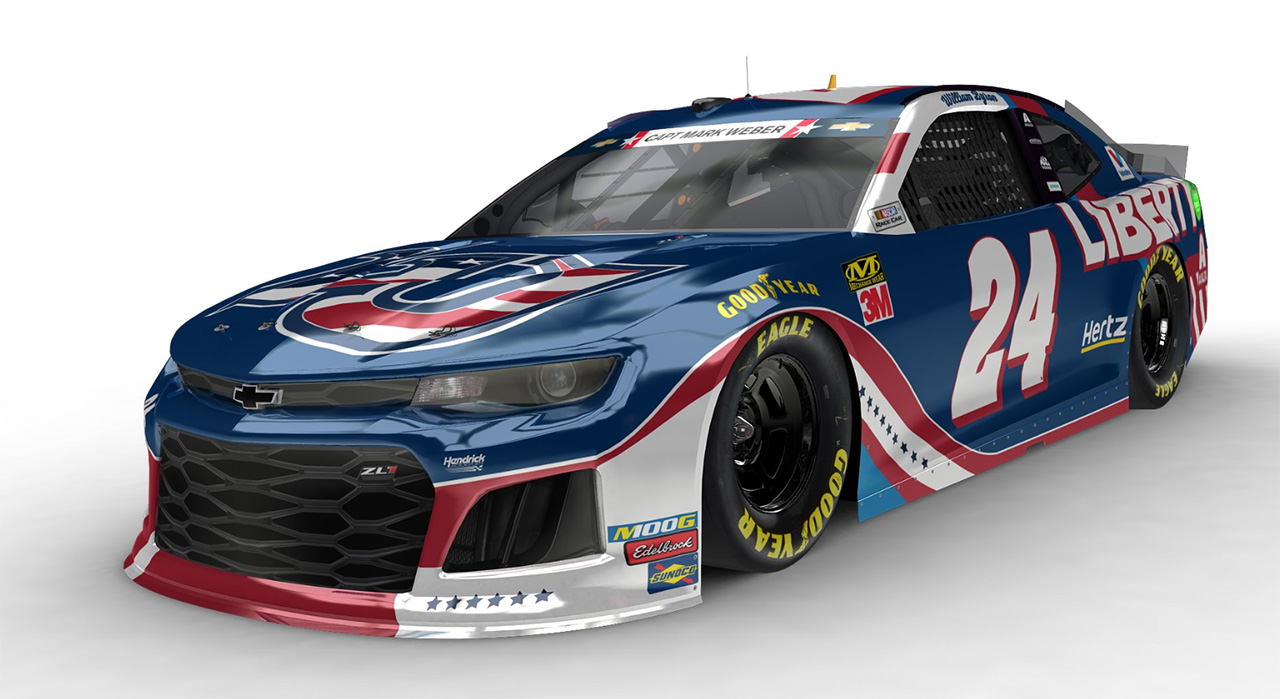 William Byron Car