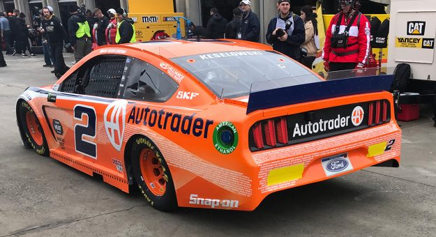 Austin Cindric Practices No 2 Ford At Atlanta
