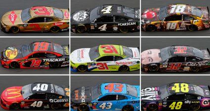 Daytona 500 Paint Schemes