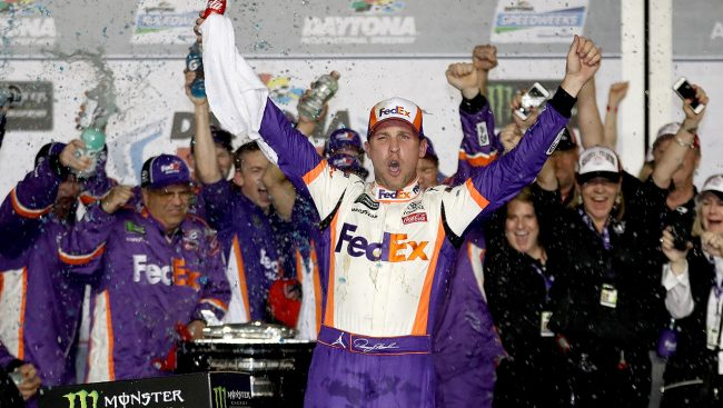 Second Daytona 500 Win for Hamlin