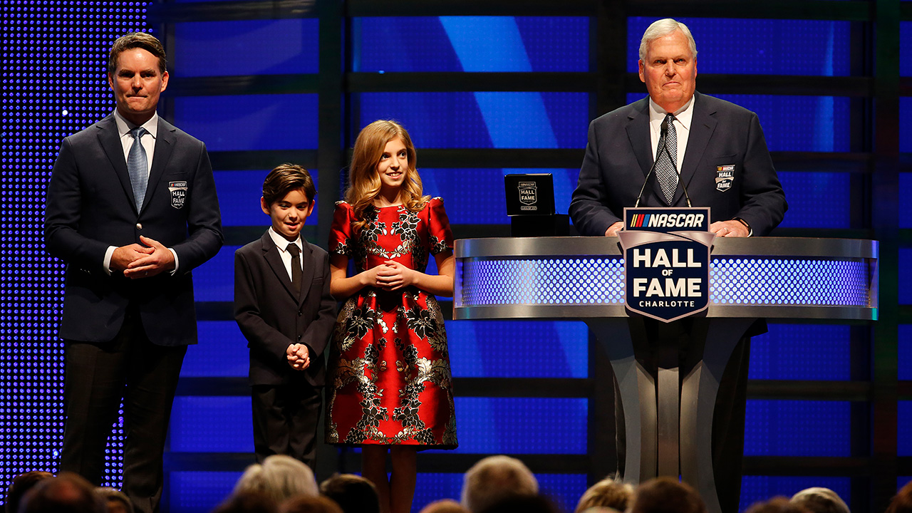 nascar hall  fame induction ceremony  mrn