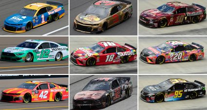 2019 Cup Series Paint Schemes