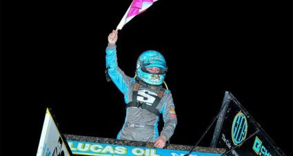 First Career ASCS Victory for Harli White