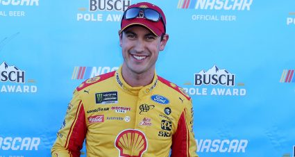 Logano Takes Martinsville Pole