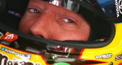 Kyle Busch Eyes Three-Peat