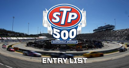 STP 500 Entry List
