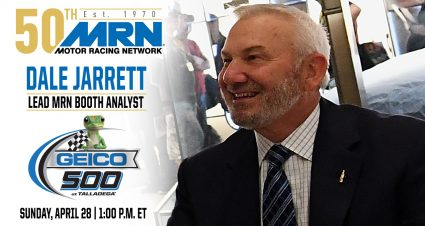 Jarrett to Join MRN at Talladega