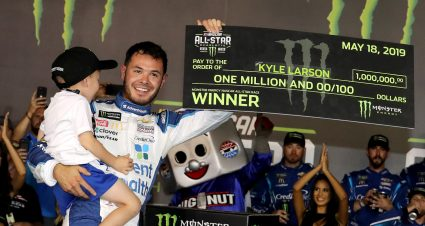 Million Dollar Night for Larson