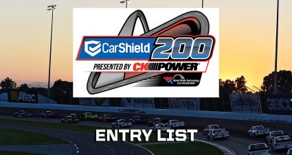 CarShield 200 Entry List