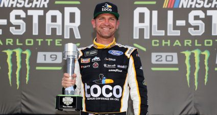 Bowyer Wins All-Star Pole