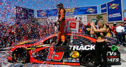 Truex Jr. Scores Third Sonoma Win