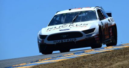 Four Cars to Rear at Sonoma