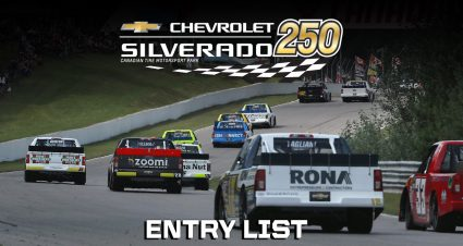 Chevrolet Silverado 250 Entry List