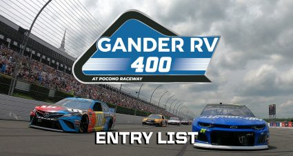 Gander RV 400 Entry List