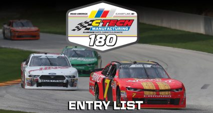CTECH Manufacturing 180 Entry List