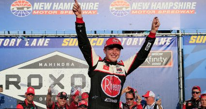 Bell Dominates at New Hampshire