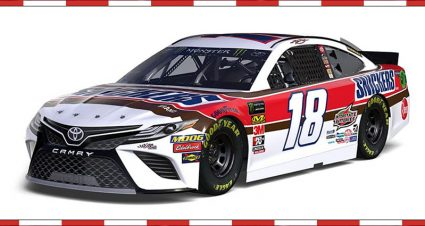 Snickers Throwback for Kyle Busch