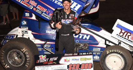 Pittman Scores Fourth Career Front Row Challenge Win