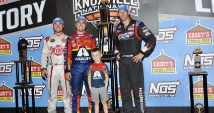 Gravel Wins Knoxville Nationals