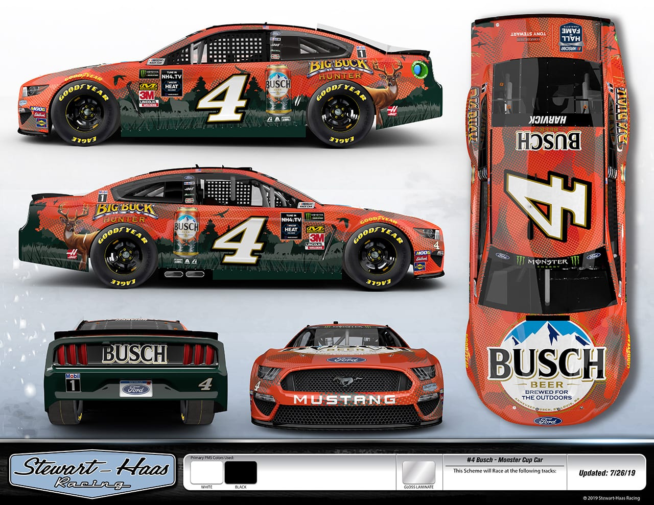 Kevin Harvick Darlington
